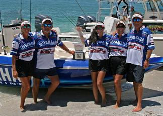 wptts yamaha 2011 team of the year. tarpon fishing team yamaha