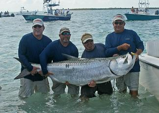professional tarpon tourna ment team poon crazy