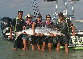 pro tarpon tournament series wptts team sign zoo
