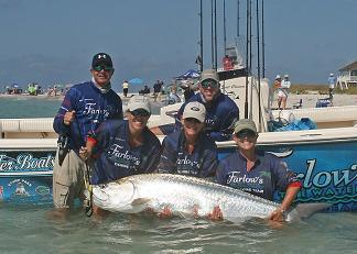 wptts team farlows pro tarpon tournament series 2011